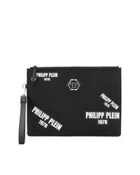 Philipp Plein Logo Patch Clutch Bag
