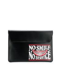 Stella McCartney No Smile No Service Envelope Clutch