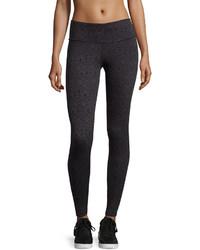 Marika tek glacier geometric print activewear leggings black medium 391332