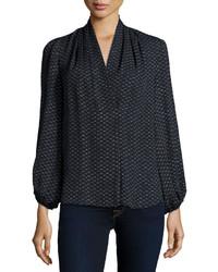 Kobi halperin josephine long sleeve printed blouse medium 360068