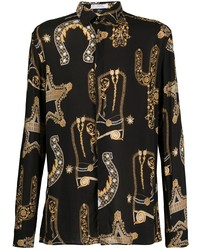 Versace Collection All Over Print Shirt