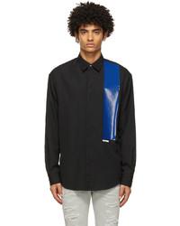 DSQUARED2 Black Dropped Panel Shirt