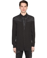 Marcelo Burlon County of Milan Hoyada Printed Cotton Oxford Shirt