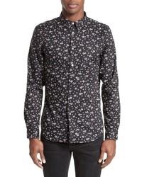 Ps extra trim fit mini daisy print sport shirt medium 3772517
