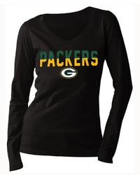 5th & Ocean Green Bay Packers Huddle Le Long Sleeve T Shirt