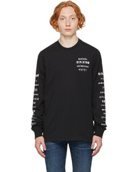 Diesel Black B50 Long Sleeve T Shirt