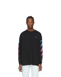 Off-White Black Diag Gradient T Shirt