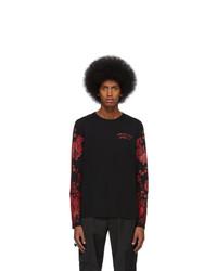 Alexander McQueen Black Japanese Ivy Long Sleeve T Shirt