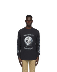 Vetements Black Motorhead Edition The World Is Yours T Shirt