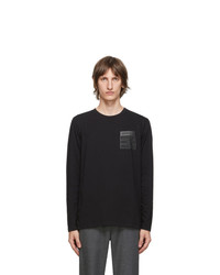 Maison Margiela Black Stereotype Long Sleeve T Shirt