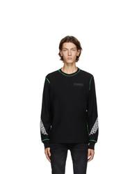 Diesel Black T Juseam Ls T Shirt