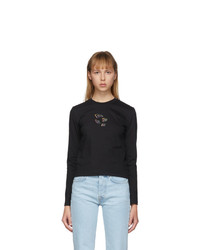 Ader Error Black Tortholl Long Sleeve T Shirt