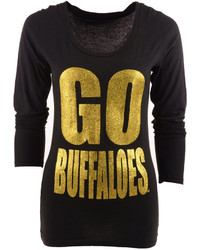 Blue 84 Long Sleeve Colorado Buffaloes Flicker T Shirt