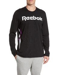 Reebok Classic Vector Logo Long Sleeve T Shirt