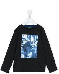 DKNY Kids Logo Print T Shirt