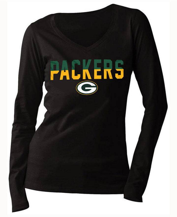 ... 5th & Ocean Green Bay Packers Huddle Le Long Sleeve T Shirt