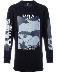 Hood by Air Print Detail Longsleeved T Shirt