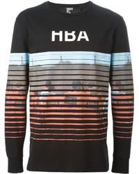 Hood by Air Printed Long Sleeve T Shirt