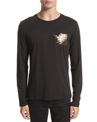 Versace Jeans Graphic Long Sleeve T Shirt