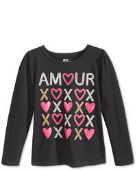 Epic Threads Little Girls Mix And Match Graphic Print Long Sleeve T Shirt Only At Macys