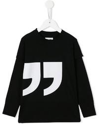 nununu Quotation Mark Print T Shirt