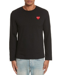 Comme des Garcons Play Long Sleeve T Shirt