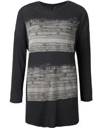 Raquel Allegra Printed Long Sleeve T Shirt