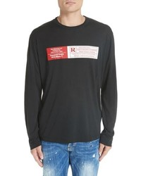 DSQUARED2 Rated R Graphic Long Sleeve T Shirt