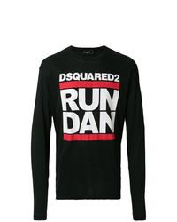 DSQUARED2 Run Dan Print T Shirt