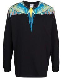 Marcelo Burlon County of Milan Wings Print Long Sleeve T Shirt