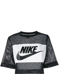 Nike Printed Mesh Crop Top