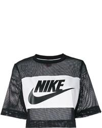 Nike Printed Mesh Crop Top