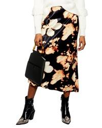 Topshop Bias Midi Skirt