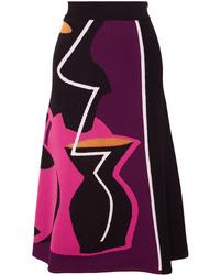 Roksanda Jacquard Knit Midi Skirt