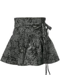 Marc Jacobs Paisley Print Flared Mini Skirt