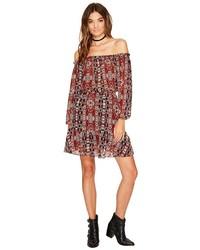 BB Dakota Sienna Printed Off The Shoulder Dress Dress