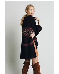 Free People Alpaca Fairisle Tunic Sweater
