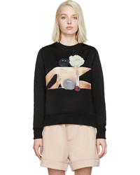 Acne Studios Black Vernina Bosquet Sweatshirt