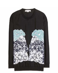 Stella McCartney Embroidered Silk Sweater