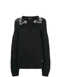 Dsquared2 Floral Embellished Jumper