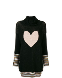 Twin-Set Heart Knit Jumper