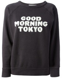 Isabel marant toile halen good morning tokyo printed sweater medium 20255