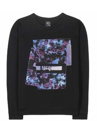 McQ by Alexander McQueen Mcq Alexander Mcqueen Printed Cotton Sweater