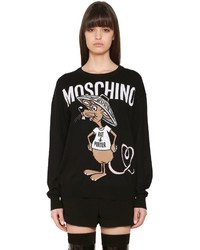 Moschino Oversized Intarsia Knit Sweater