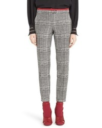 Fendi Prince Of Wales Print Crop Pants