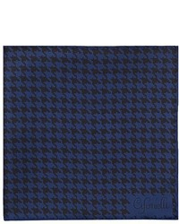 Cifonelli Houndstooth Silk Twill Pocket Square