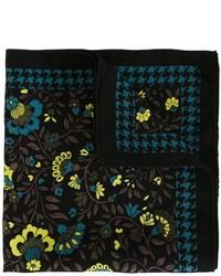 Versace Vintage Floral Print Pocket Square