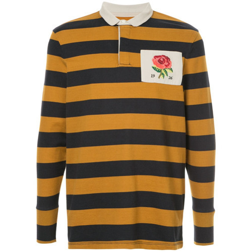 ed226a99a Kent & Curwen Striped Polo Shirt, $127 | farfetch.com | Lookastic.com