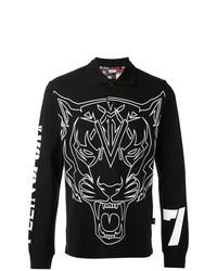 Plein Sport Tiger Print Sweatshirt