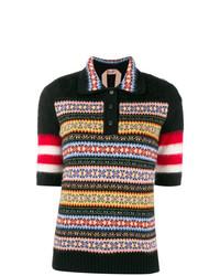 N°21 N21 Striped Jacquard Knit Sweater